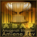 ABAR: Anugerah Blogger Amiene Rev