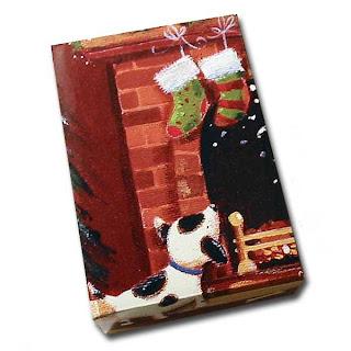 xmascard box Christmas Card Gift Box