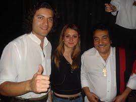 Com Gabriel e Pedro Ortaça