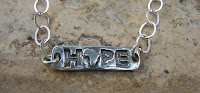 Order your HOPE Jewelry from an amazing artist at JUNKPOSSE