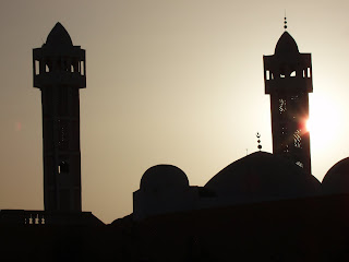 Africa Mosque at sunset Photo credit: P.D. Bramsen