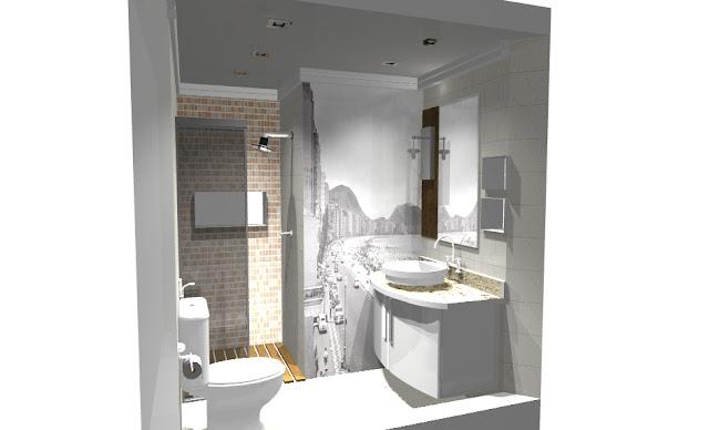 Decoração de interiores  Studio Redecorando Banheiro  reforma fac -> Decoracao Banheiro Facil
