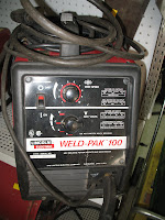 Here Is A Very Nice Used Lincoln Weld Pak 100 Mig Welder It 110 Volt Wire Feed That Does Not Require Argon Gas Good Little