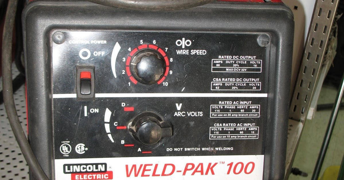 Forest Lake Pawn Shop Lincoln Weld Pak 100 Wire Feed Welder