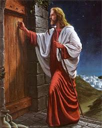 إني اقف علي الباب وأقرع