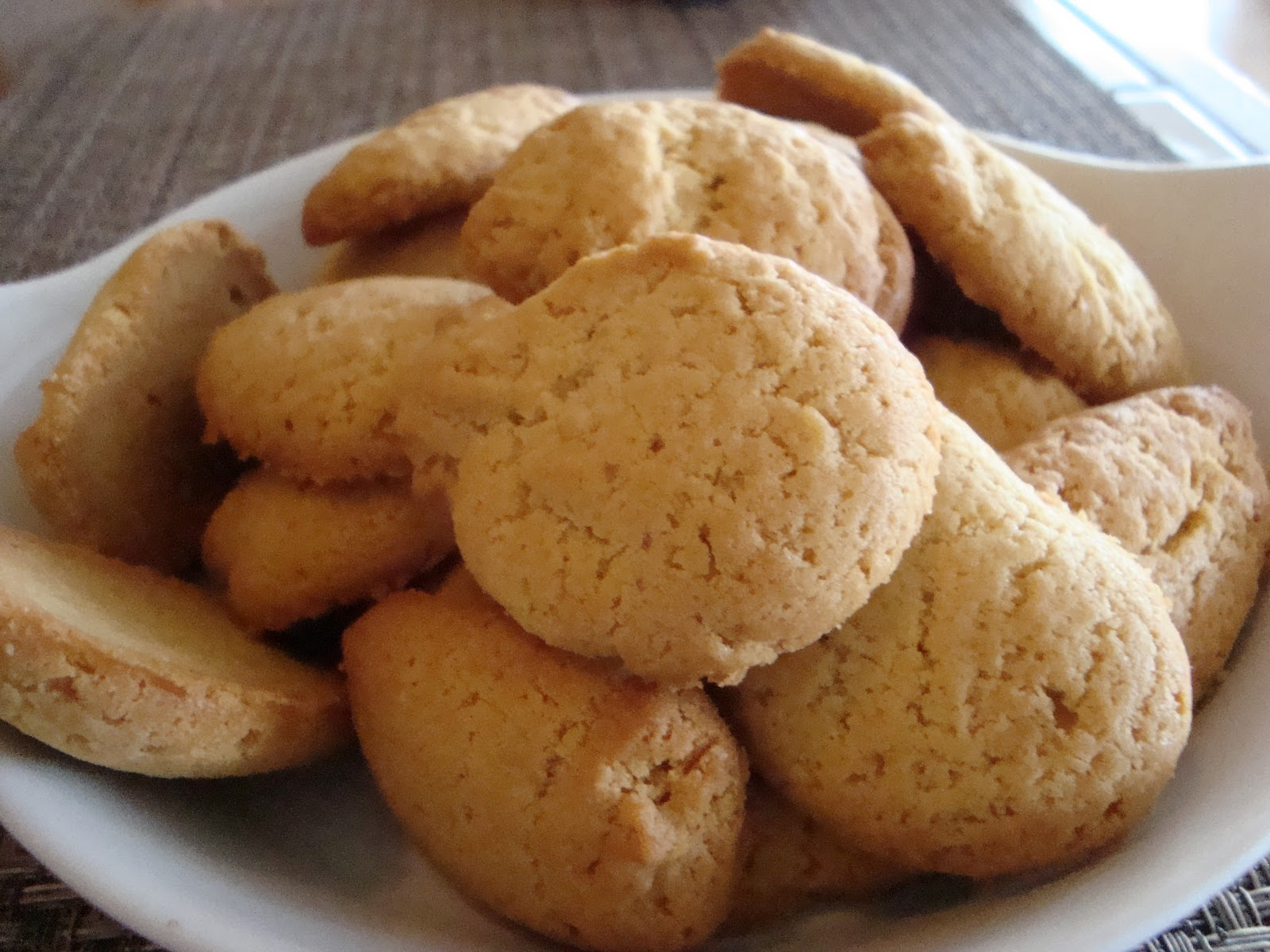 shortbread cookies (zandkoekjes) | KennyIsCooking