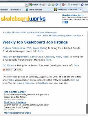 skateboard jobs, pro skateboarder, graphic designer, skateboarding job, skateboard category manager, skateboard positions, Skateboard companies, skate shop
