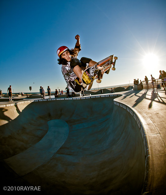 Daniel Cuervo at Venice skatepark
