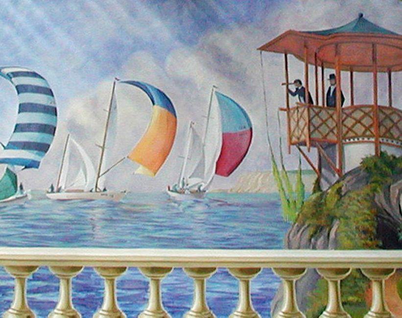 Expresiones art sticas 2010 allgunos tipos de murales - Murales con fotos ...