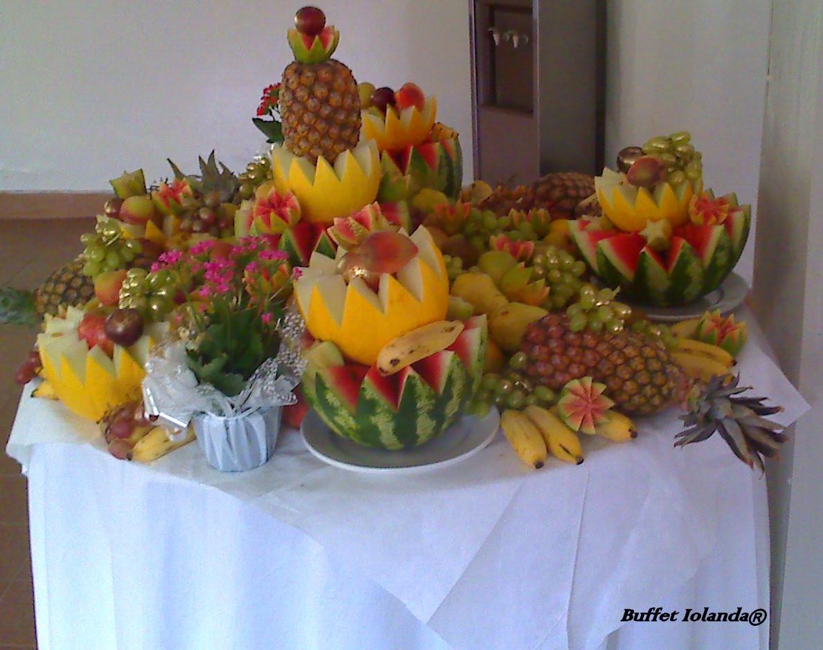 Buffet iolanda mesa de frutas - Adornos de frutas para mesas ...