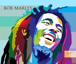 Bob Marley by Najeeb