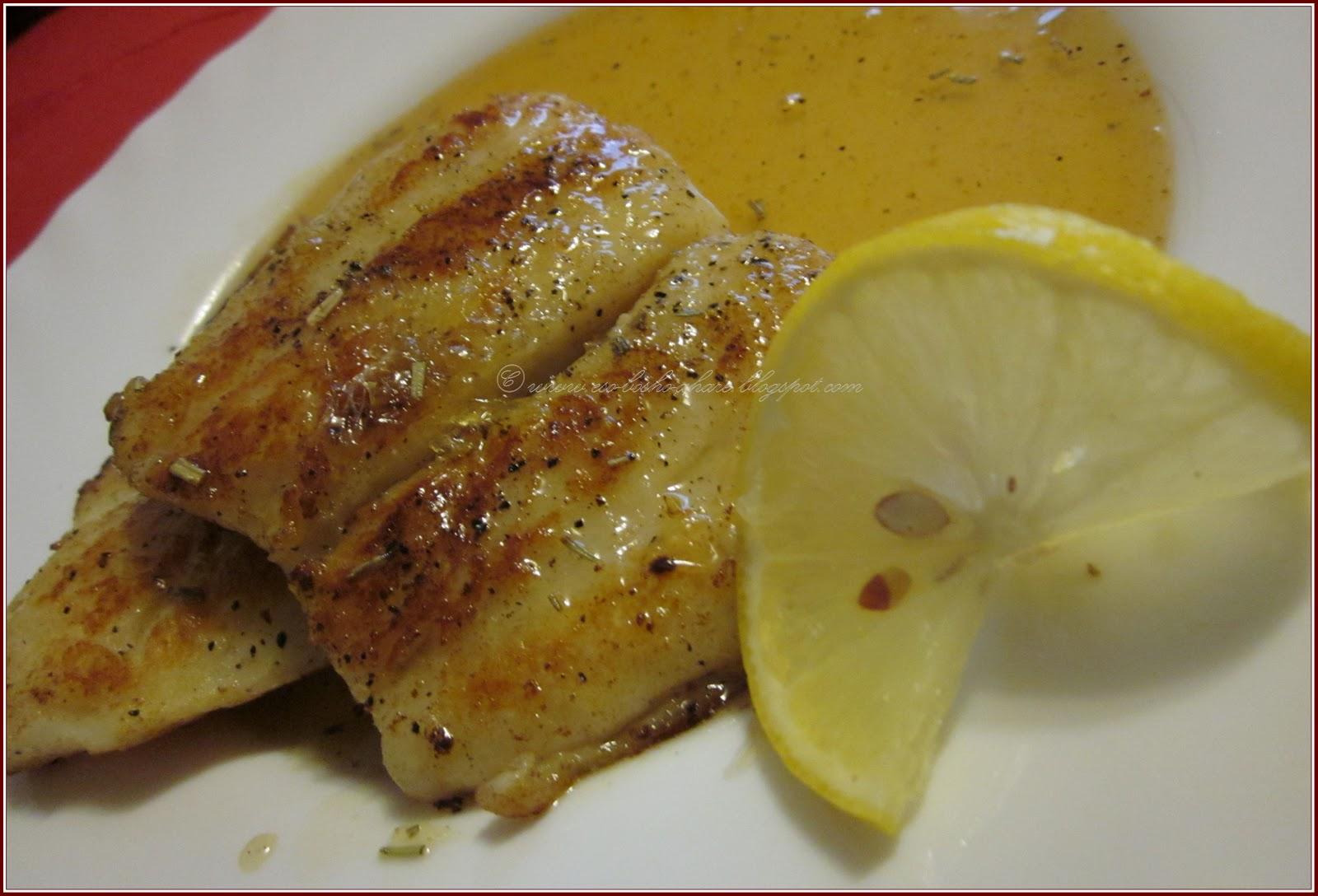 Taste buds honey lemon fish for 99 5 the fish