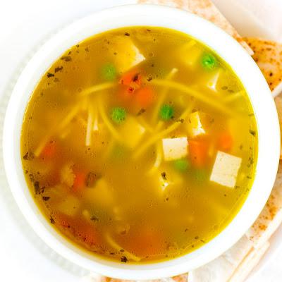 sick hubby soup