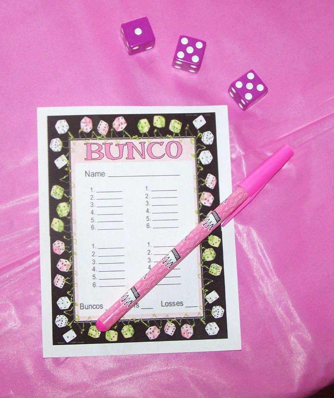 image about Cute Bunco Score Sheets Printable identify bunco-ranking-sheets-printable.html inside