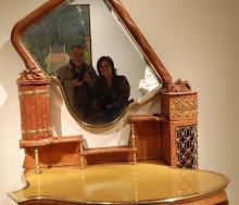 como es verse en un espejo de Gaudí