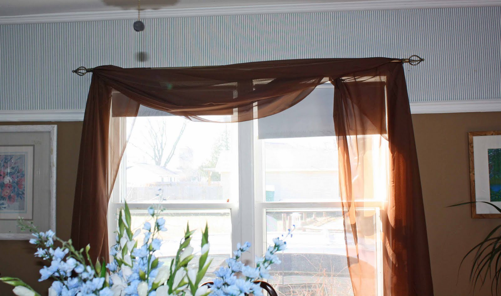 superwoman tree branch curtain rod. Black Bedroom Furniture Sets. Home Design Ideas