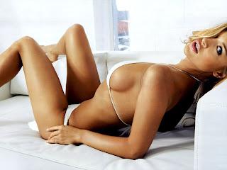 sensual girl in bikini