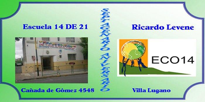 ESCUELA 14 DE 21 - RICARDO LEVENE