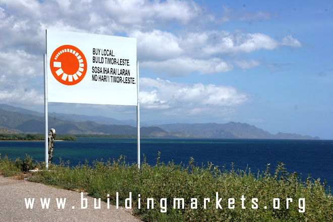 Buy and Build.  Timor-Leste.