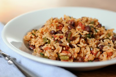 The Galley Gourmet: Mexican Rice with Tomatoes and Beans