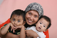 i've got 2 cute, handsome, naughty, adorable sons...to be mother of two,its tiring but full of joy!