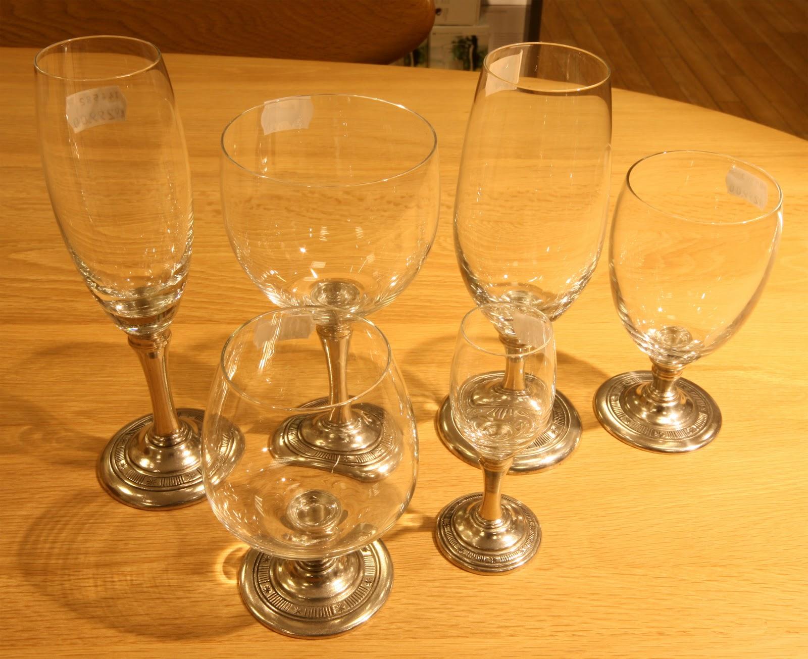 Hadeland tinn vinglass