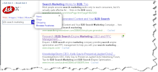ASK X Search for B2B Search Engine Marketing