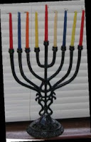 NAMC Montessori Classrooms Celebrate Winter Holidays Around the World Hanukkah menorah