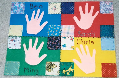 importance NAMC montessori practical life activities classroom children's quilt
