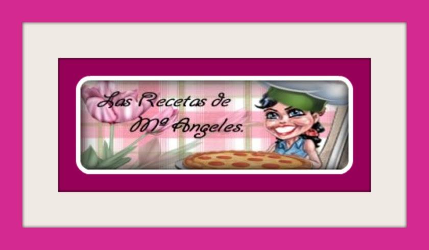 Las Recetas de Mª Angeles