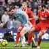 Javier Mascherano's tackle on Gareth Barry