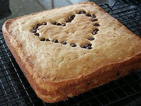 Little Corner of Mine: Peanut Butter Banana Cake