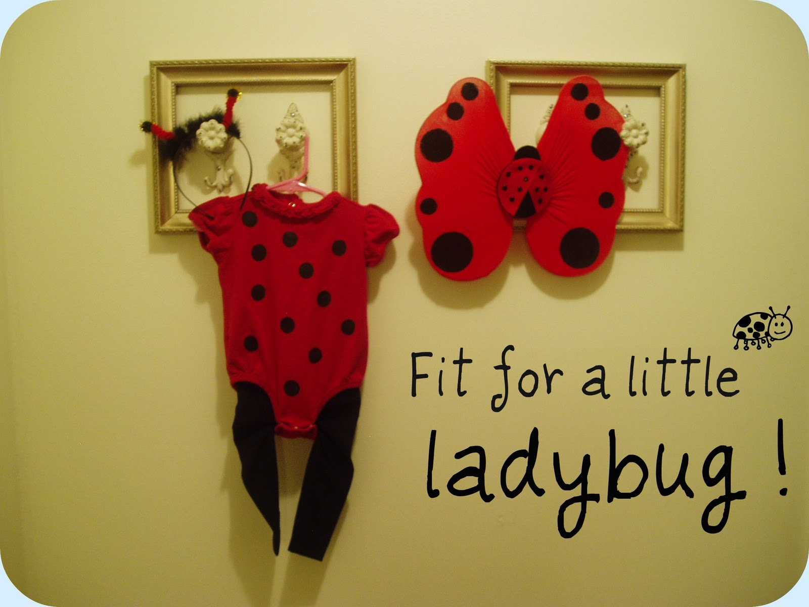 Spartan living homemade toddler costume fit for a little ladybug heres what youll need to make this adorable costume solutioingenieria Choice Image