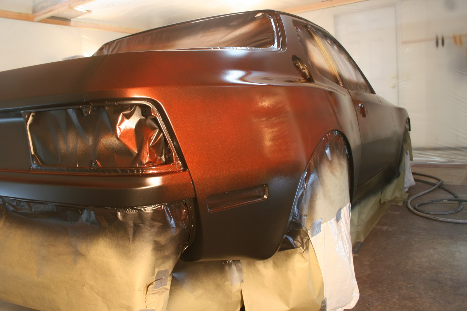 repainting my 1983 porsche 944 spraying color part 1. Black Bedroom Furniture Sets. Home Design Ideas