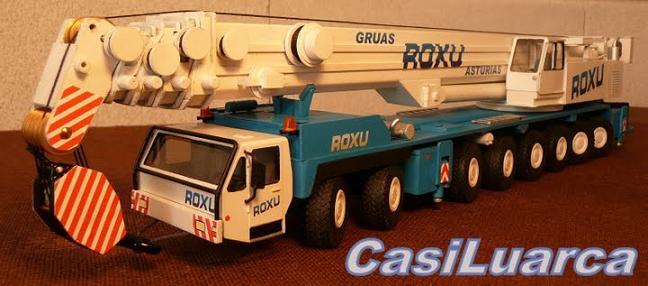 CasiLuarca: Modelismo de grúas y transportes especiales 1/50