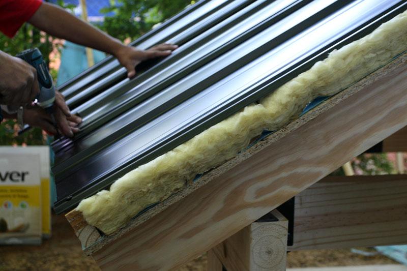 B d c bioarquitectura tecnologica for Cual es el techo mas economico para una casa