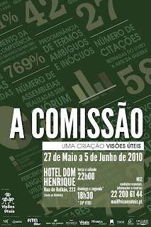 A Comissão, cartaz de entropiadesign a partir de imagem de Ricardo Lafuente