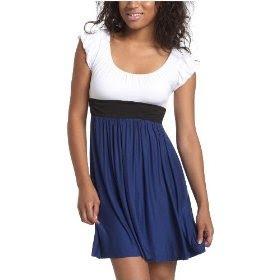 Babydoll Dress on Objects Juniors  Colorblock Babydoll Dress   Maxi Dress   Zimbio