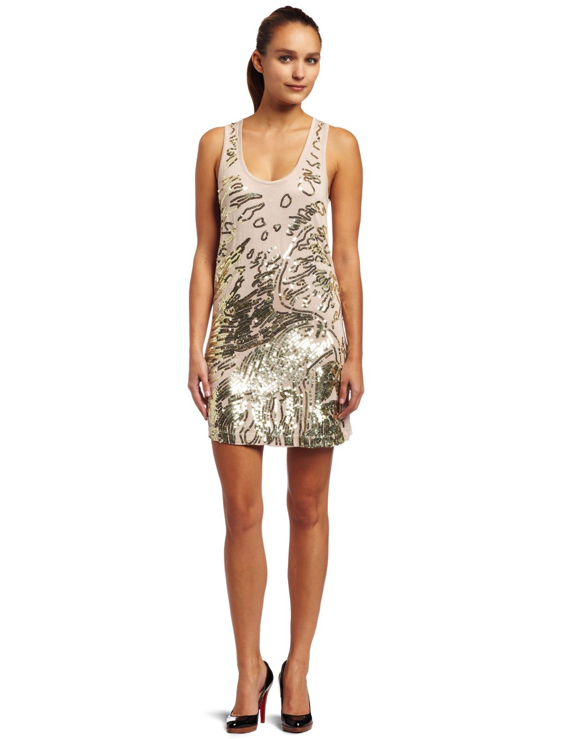 Womens Sequin Dress Photo Album - Reikian