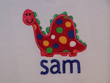 Dinosaur applique