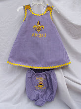 LSU CrissCross Dress & Bloomers