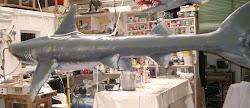 Tiburón. Escuturas decorativas