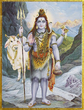 Shiva Nice Picuture with his Nandi Ox