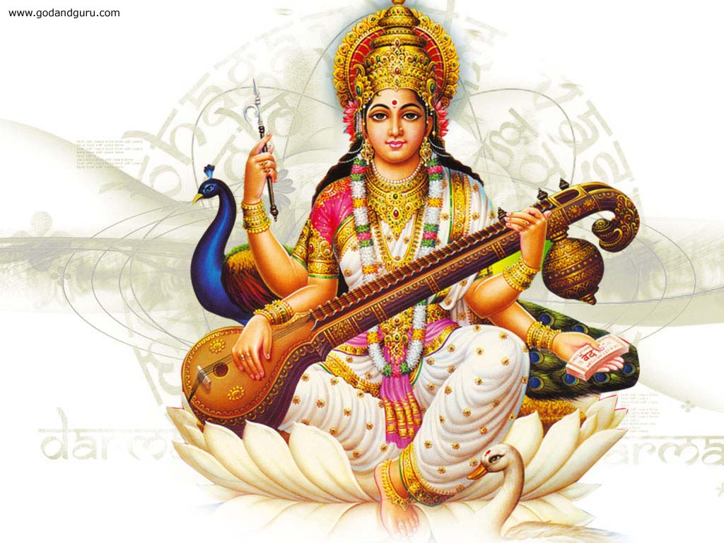 Goddess Saraswati Mata Photo