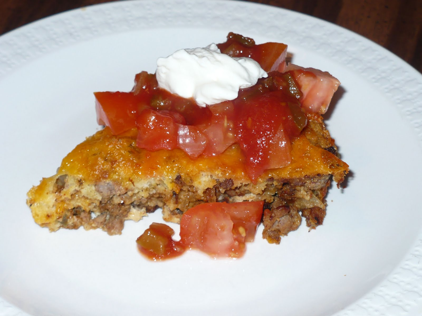 By His Grace: Impossibly Easy Taco Pie