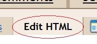click edit HTML tab