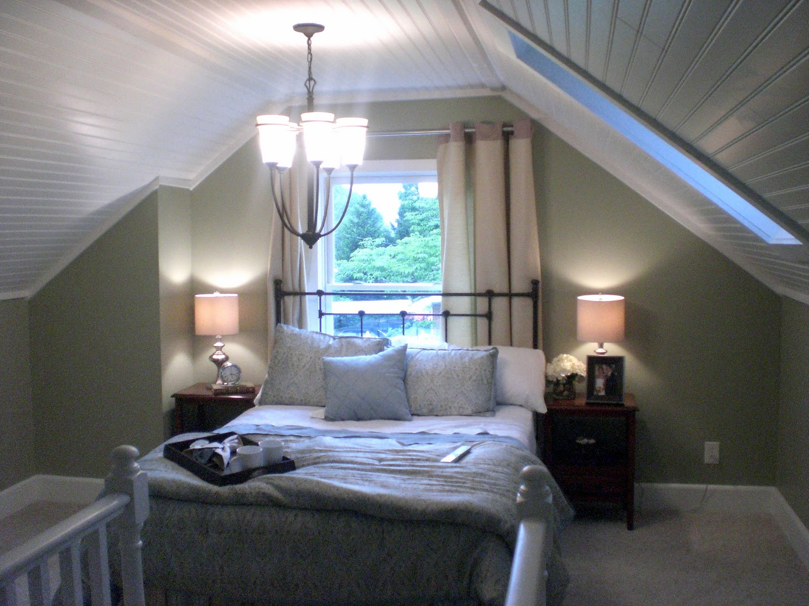 Attic Bedroom Before And After