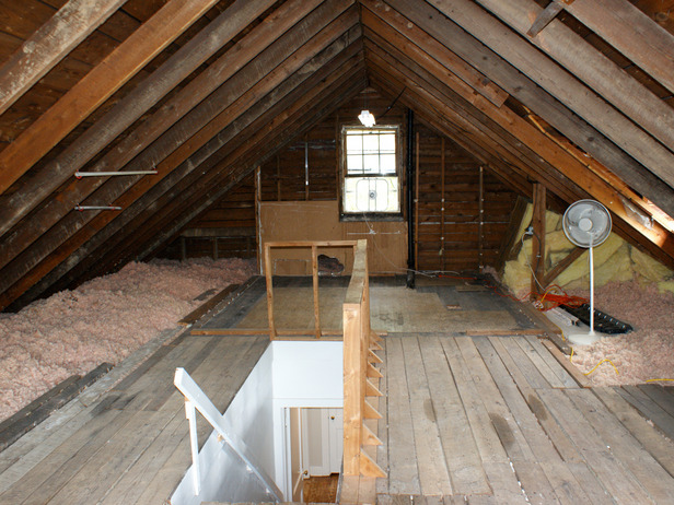 Attic Remodel Master Bedroom