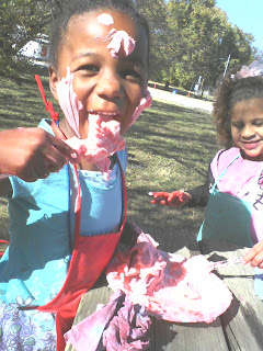 super easy shaving cream activity for sensory play with kids summer camp