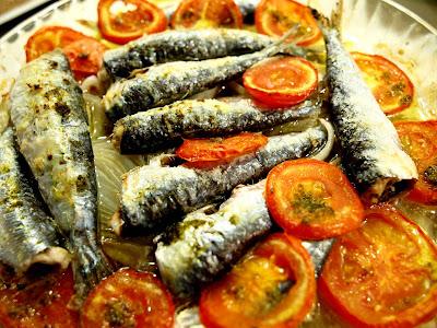 Sardinas al horno con ensalada  P5278743